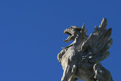 Statue d'un dragon Image libre de droits