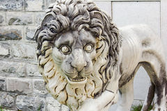 Statue d'un lion Photographie stock