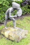 Statue d'un natif américain images stock
