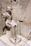 Statue d'un pharaon Photographie stock libre de droits