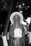 Statue d'un saint chrétien dans Vologda Photos libres de droits
