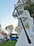 Statue d'un travailleur Photos libres de droits