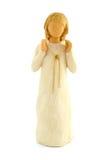 Statue d'une fille Images libres de droits