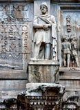 An ancient architectonic detail Stock Photos