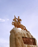 Statue of Damdin Sukhbaatar Stock Images