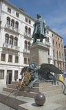 Statue of Daniel Manin in Venice. Italy Stock Image