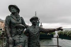 Statue dans Cobh images libres de droits