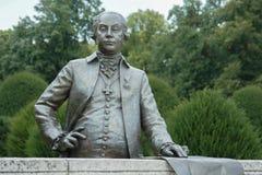 Statue dans le palais d'Esterhazy, ` d, Hongrie de FertÅ Image libre de droits