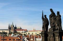Statue dans le prgaue photos libres de droits