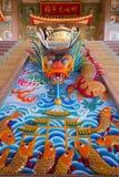 Statue dans le temple chinois Images stock