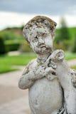 Statue dans les jardins Photo libre de droits