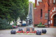 Statue dans Sandefjord, Norvège Photographie stock libre de droits
