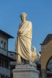 Statue of Dante Alighieri Royalty Free Stock Image