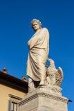 Statue of Dante Alighieri Royalty Free Stock Photography