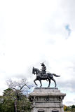 Statue of Date Masamune Royalty Free Stock Photography