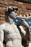 Statue of David. In Flornce. Italy. Mediterranean Europe Stock Photos