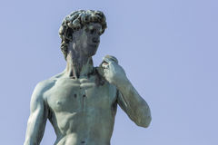 Statue of David. Located in Micheal Angelo Park Florence, Italy Stock Image
