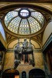 Statue David Cerny de cheval Image libre de droits