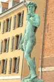 Statue of David in Copenhagen Royalty Free Stock Photography