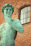 Statue of David in Copenhagen Stock Photography