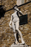 Statue of David in Florence Royalty Free Stock Photography