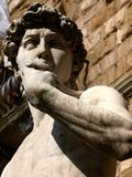 Statue of David in Florence Stock Photography