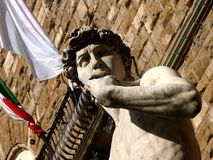 Statue of David in Florence Stock Images