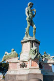 Statue of David, located in Micheal Angelo Park. Florence, Italy Stock Photography