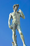 Statue of David. Located in Micheal Angelo Park Florence, Italy Stock Photos