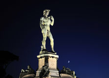 Statue of David. At Micheal Angelo Park . Florence, Italy Royalty Free Stock Photography