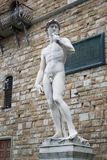 Statue of David by Michelangelo Stock Images