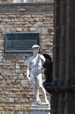 Statue of David by Michelangelo in Florence Royalty Free Stock Photos