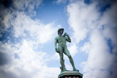 The statue of David Royalty Free Stock Image