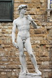 Statue of David Stock Photo