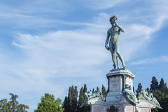 The statue of David. By Michelangelo in Florence, Italy Royalty Free Stock Photos