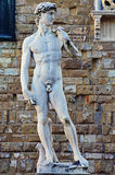Statue of David by Michelangelo Stock Photography