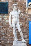 The statue of David Stock Photography
