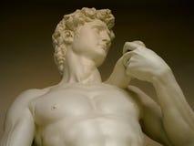 Statue of David. Replica of Michelangelo's statue of David - Museum of Cerro Otto in Bariloche - Patagonia - Argentina Stock Photo