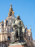 Statue of David Teniers the Younger Stock Photo