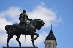 Statue de Artigas. In Montevideo Stock Photos