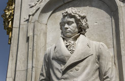 Statue de Beethoven Images stock