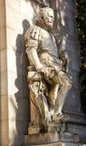 Statue de Bibliothèque nationale Photographie stock libre de droits