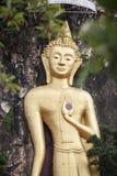 Statue de Bouddha au temple Images libres de droits