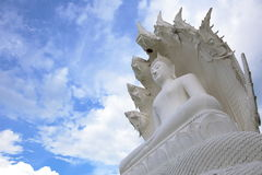Statue de Bouddha au temple de samakeeboonyaram dans le lampang, Thaïlande Image libre de droits