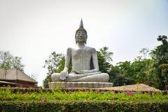 Statue de Bouddha de statue avec le ciment photo libre de droits