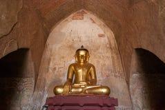 Statue de Bouddha chez Bagan Photo libre de droits