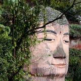 Statue de Bouddha chez Leshan, Chine Photographie stock