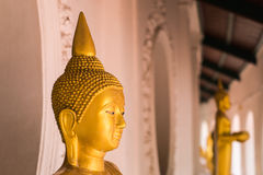 Statue de Bouddha chez Wat Phra Pathom Chedi Image stock