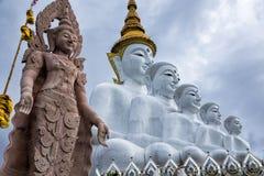 Statue de Bouddha chez Wat Prathat Phasornkaew dans Phetchabun, Thaïlande Photographie stock libre de droits