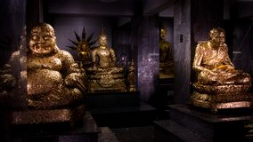 Statue de Bouddha d'Asiatique chez la Thaïlande Photo stock